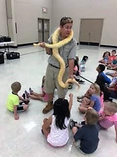 Albino Snake!